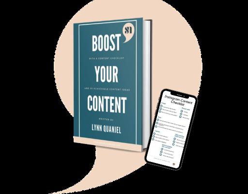 Boost your instagram content