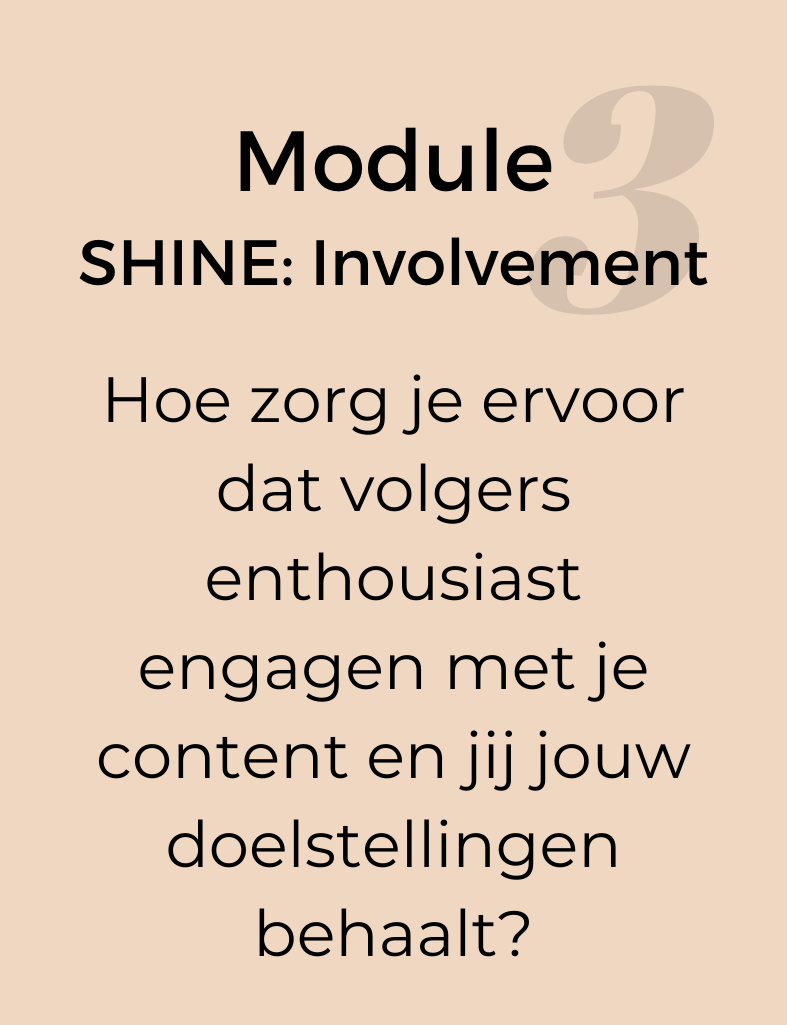 Module-3-SHINE-INVOLVEMENT