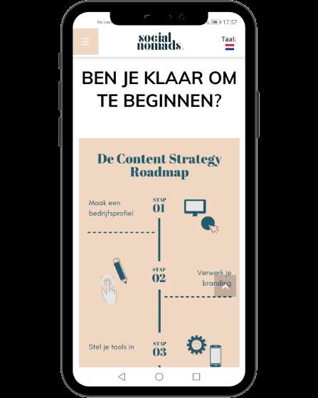 Social Nomads Content Roadmap