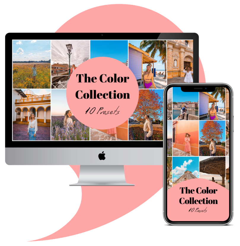 The Color Collection lightroom editing presets