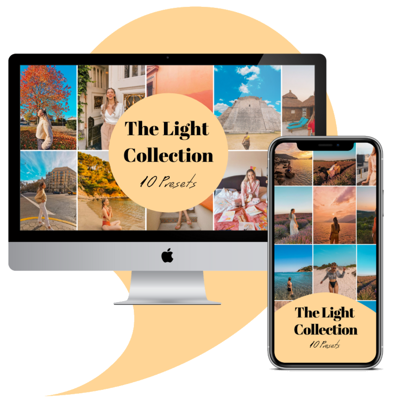 The Light Collection lightroom editing presets