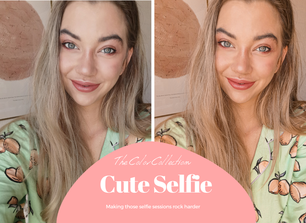 Lightroom presets - Cute Selfie from The Color Collection