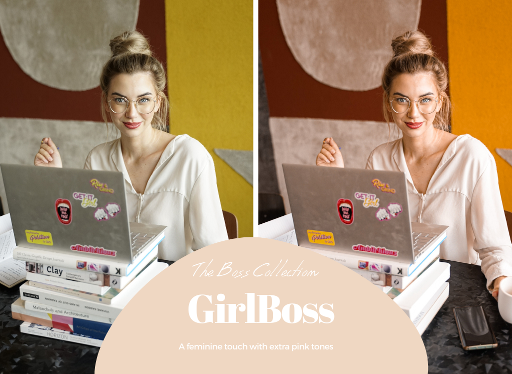 Lightroom presets - Girlboss from The Boss Collection