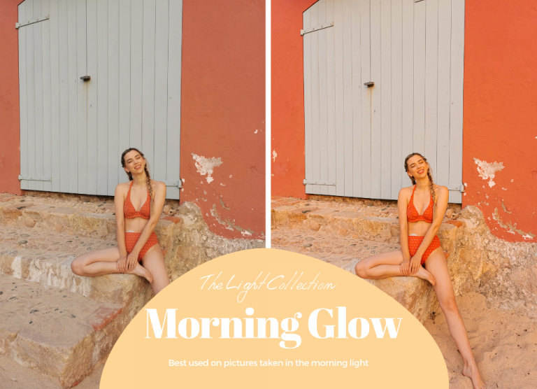 Lightroom presets - Morning Glow from The Light Collection